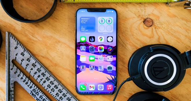 Loi la voi ung dung nhan tin iMessages tren iPhone 12 chay iOS 14 anh 1